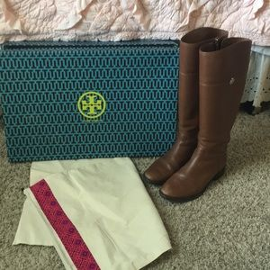 Tory Burch riding boots size 8 1/2